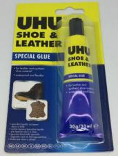Клей Shoe & Leather для кожи и обуви в блистере, 30 г.