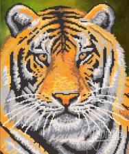 Тигр. Размер - 26 х 31 см.