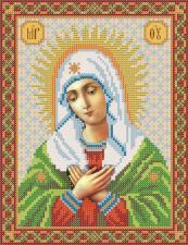 Богородица Умиление. Размер - 18 х 24 см.