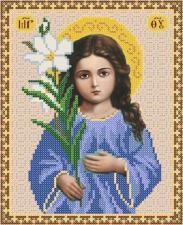 Богородица Трилетствующая. Размер - 18 х 23 см.