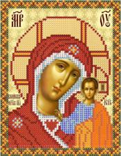 Богородица Казанская. Размер - 13 х 16 см.