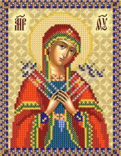 Богородица Семистрельная. Размер - 13 х 16 см.