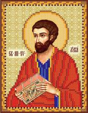 Св. апостол и евангелист Лука. Размер - 13 х 16 см.