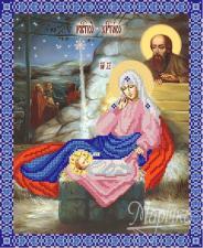 Рождество Христово. Размер - 26 х 32 см.