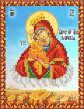 Почаевская икона Божией Матери. Размер - 13 х 17 см.