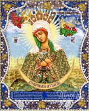 Богородица Остробрамская. Размер - 26 х 32 см.