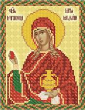 Св. Мироносица Мария Магдалина. Размер - 13 х 16 см.