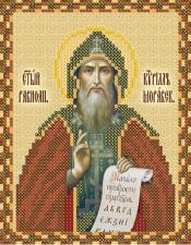 Св. Равноап. Кирилл Моравский. Размер - 13 х 16 см.