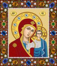 Богородица Казанская. Размер - 13 х 15 см.