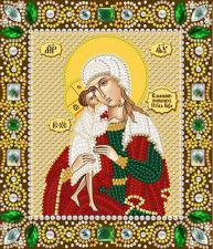 Богородица Взыскание погибших. Размер - 13 х 15 см.