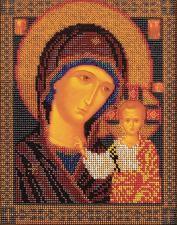 Казанская Богородица. Размер - 19 х 23 см.