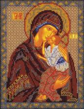 Ярославская Богородица. Размер - 20 х 25 см.