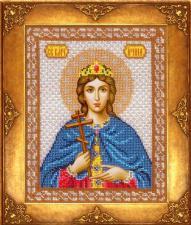 Св.Ирина. Размер - 18 х 22,5 см