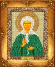 Св.Матрона Московская. Размер - 12,5 х 16,3 см