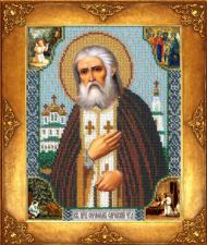 Св.Серафим Саровский. Размер - 18 х 22,5 см.