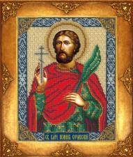 Святой Иоанн Сочавский. Размер - 18 х 22,5 см.