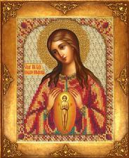 Богородица В родах помощница. Размер - 12,5 х 16,3 см.
