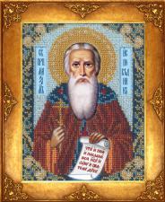 Святой Максим Исповедник. Размер - 12,5 х 16,3 см.