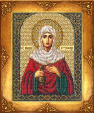 Святая Иоанна Мироносица (Жанна,Яна). Размер - 18 х 22,5 см.
