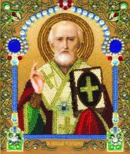 Икона Святителя Николая Чудотворца. Размер - 20,5 х 24 см.