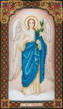 Икона Святого Архангела Гавриила. Размер - 16,5 х 29 см.