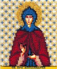 Икона Св.Прп.Апполинария. Размер - 9 х 11 см.