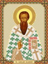 Святой Василий Великий. Размер - 13 х 17 см.