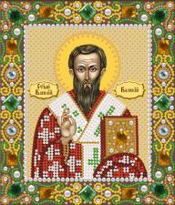 Святой Василий Великий. Размер - 13 х 15 см.