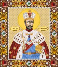 Св. Мч. Царь Николай. Размер - 13 х 15 см.
