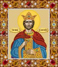 Святой Равноап.царь Константин. Размер - 13 х 15 см.