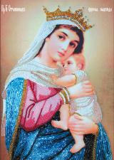 Богородица Отчаянных Единая надежда. Размер - 20 х 28 см.