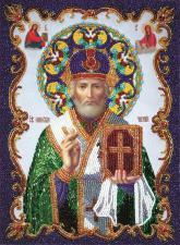 Св.Николай Чудотворец. Размер - 20 х 27 см.