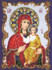 Богородица Смоленская. Размер - 20 х 27 см.