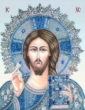 Христос Спаситель. Размер - 20 х 25,5 см.