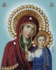 Богородица Казанская. Размер - 11 х 14 см.