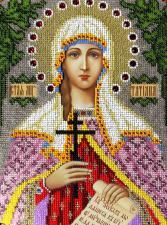 Святая мученица Татьяна. Размер - 19 х 25 см.
