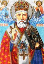 Святитель Николай архиепископ Мир Ликийских,Чудотворец. Размер - 24 х 35 см.