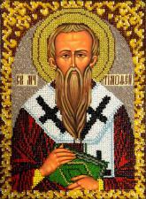 Икона Святой Тимофей. Размер - 19 х 26 см.