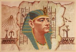 Фараон. Размер - 37 х 26 см.