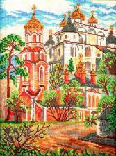 Сретенская церковь. Размер - 18,5 х 26 см.