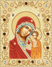 Богородица Казанская. Размер - 14 х 18 см.