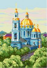 Елоховская церковь. Размер - 31 х 45 см.