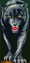 Пантера. Размер - 25 х 55 см.