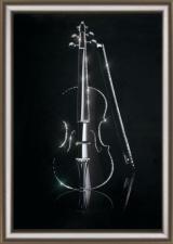 Волшебная скрипка. Размер - 30,3 х 42 см.