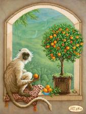 Хранитель апельсинового дерева. Размер - 24 х 32 см.