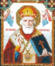 Икона Святителя Николай Чудотворца. Размер - 9 х 11 см.
