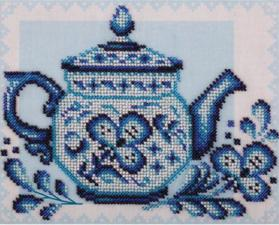 Волшебное чаепитие. Размер - 21,5 х 18 см.