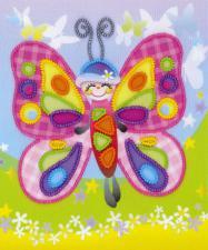 Сказочная бабочка. Размер - 15 х 18 см.