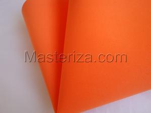 Фоамиран premium (оранжевый).
