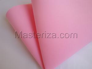 Фоамиран premium (светло-розовый).